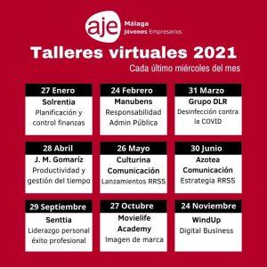 Talleres Virtuales 2021 - Aje Málaga